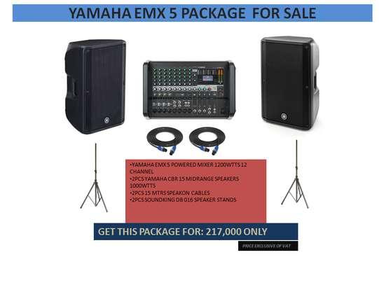 YAMAHA EMX 5 PACKAGE FOR SALE image 1