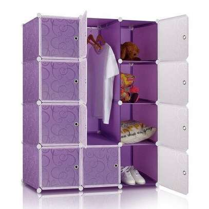 purple plastic Wardrobes image 1