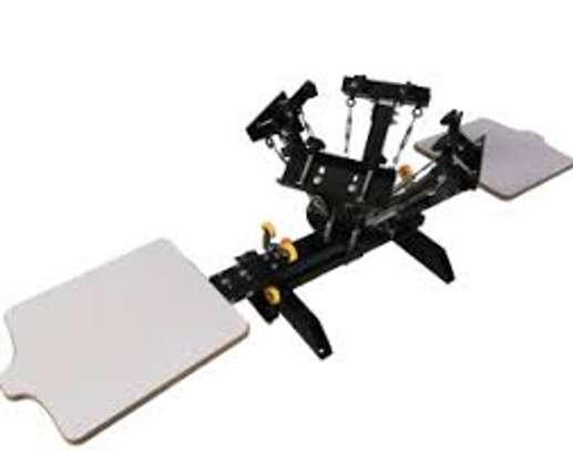 Four Station 2 Screen Printer Machine image 1