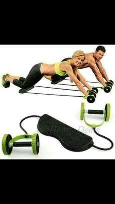 Revoflex extreme exercise abs roller image 1