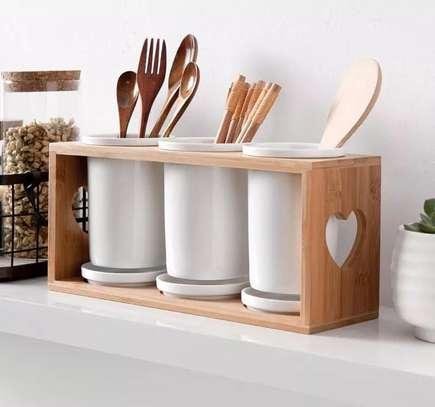 Ceramic cutlery organizer image 2
