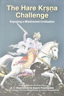 The Hare Krsna Challenge~Exposing A Misdirected Civilisation