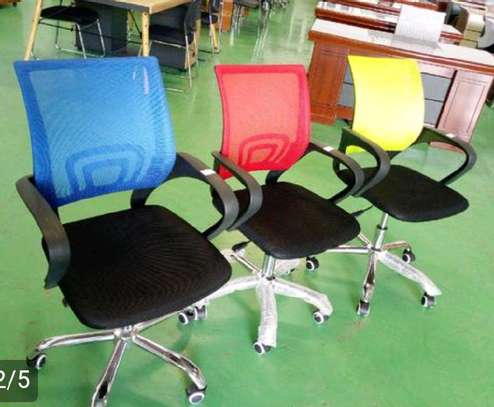 Mesh chair adjustable ones image 1