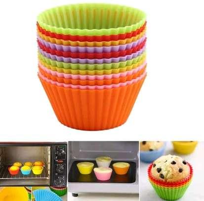 12 piece cupcake moulders image 2