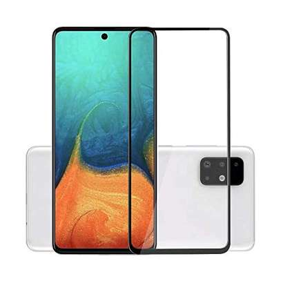 5D Full Glue Protective Tempered Glass Protector For Samsung A71 A51 image 2