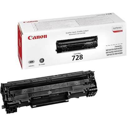 canon 728 toner cartridge black refilled only image 6