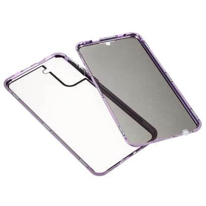 Magnetic Double-sided 360 Full Protection Glass Case for Samsung S21 S21 Plus S21 Ultra image 7