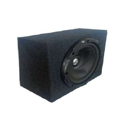 Kenwood Space Saving Bass Speaker Cabinet fitted with1000Watts KFC-W3010 Car subwoofer image 1