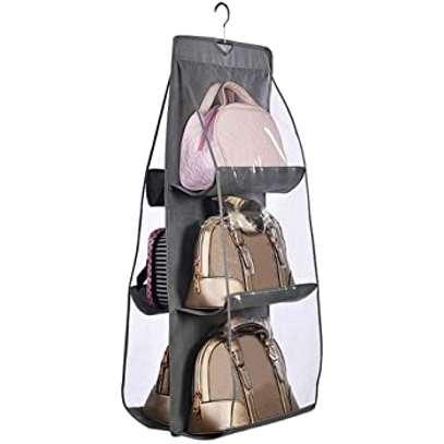 6 pocket handbag organiser image 5