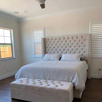 Modern 6*6 kingsize beds for sale in Nairobi Kenya/latest bed designs for sale in Nairobi Kenya image 1