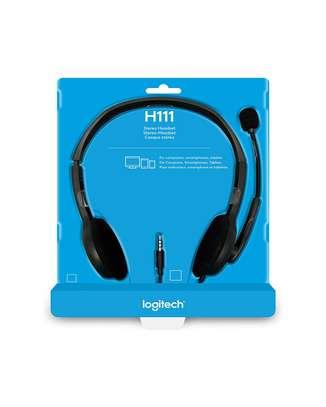 logitech headset h111 image 1