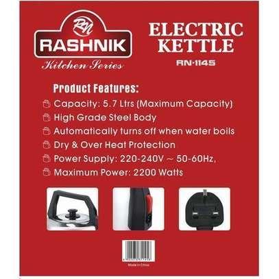 Rashnik Stainless Steel BODY Electric Kettle image 3