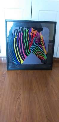 Colorful Zebra Wall hanging