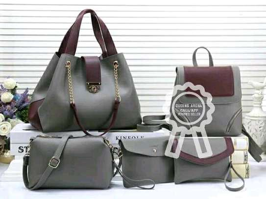 5 in 1 Leather Handbags image 2