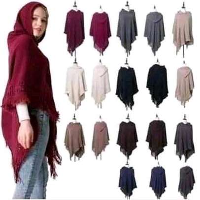 Hooded ponchos image 5