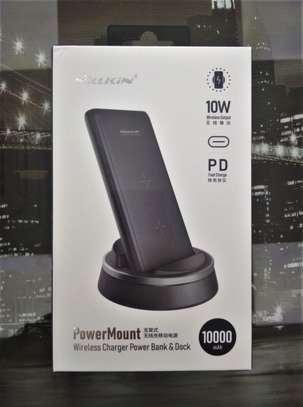 NILLKIN 10000mah Powermount Wireless Charger Power Bank & Dock image 4