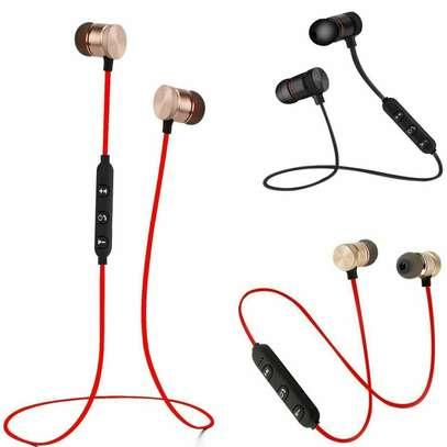 Wireless Bluetooth Sport Gym Headphones Earphones Earbuds Bass Headset with MIC image 1