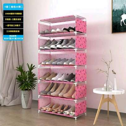 Portable shoe rack image 3