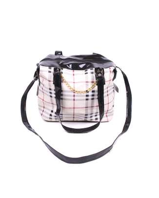 Sling bag with chain, multicolored image 1