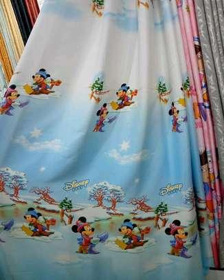 Cartoon themed curtains image 6