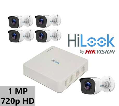 4 HD CCTV COMPLETE KIT (With Night Vision ) image 1