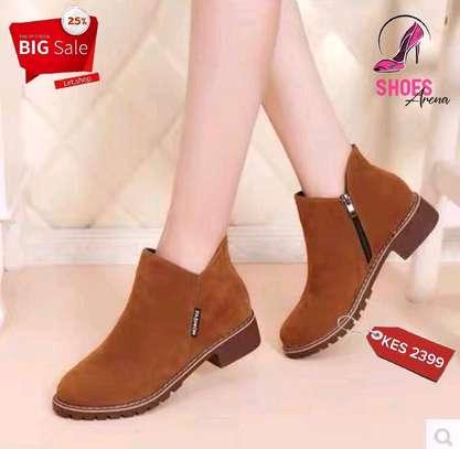 Amazing leather boots image 2