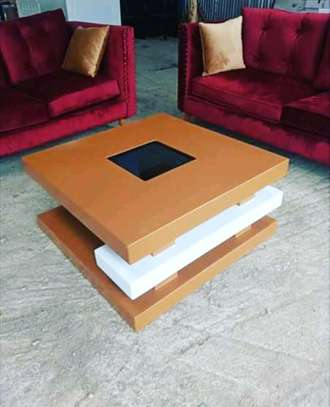 Modern coffee tables/coffee tables/wood coffee table image 1