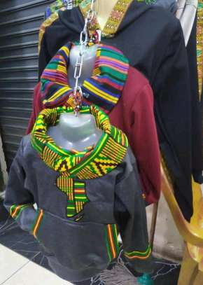 Africa designed hoods and T-shirts. image 8