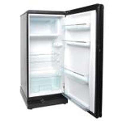 Ramtons RF/219 - Single Door Refrigerator - 165L - Titan Silver image 2