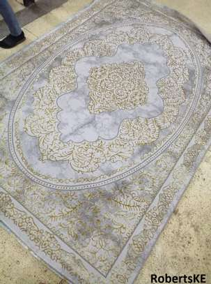 high-end durable nonskid persian carpet 5by8 image 1