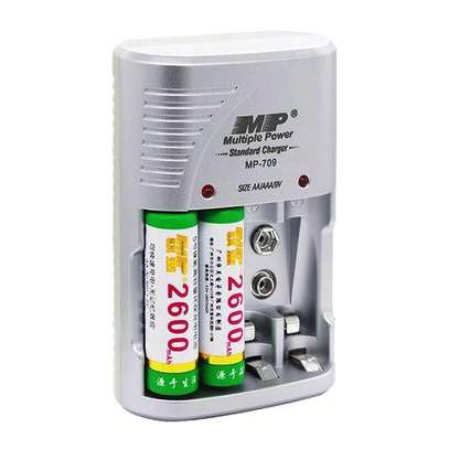 Multiple Power Standard Battery Charger For AA/AAA/9V Batteries image 3