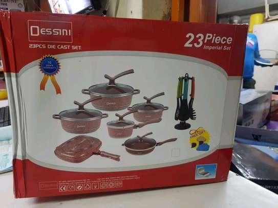Dessini 23 Pieces Cookware set