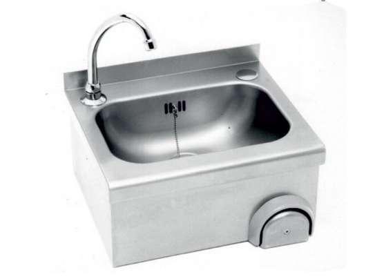 Knee operated hand wash basin image 1