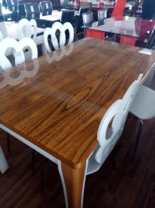 Elegant 4 seater dining table image 1