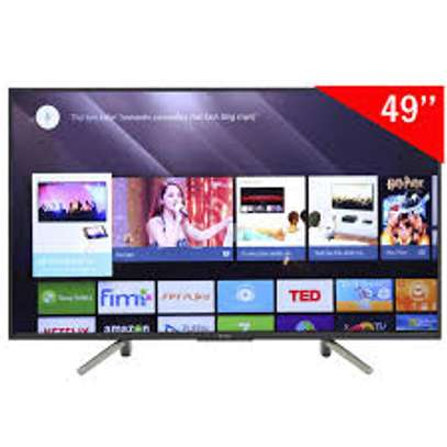 SONY Bravia Smart Android 4K X8000H Hdr Tv 49 Inch image 1