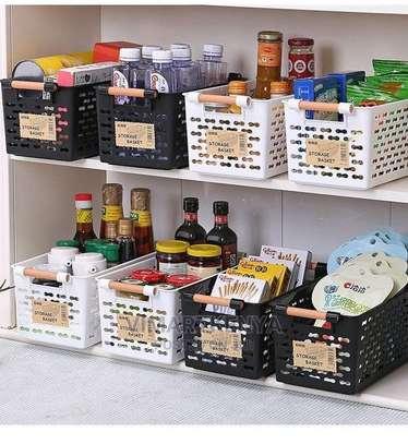 2 Pcs Multipurpose Home Pantry Storage Basket image 2