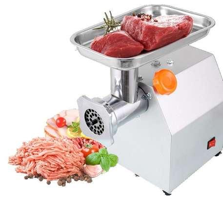 M12 meat mincer machine. image 1