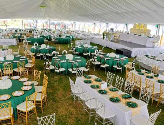 Tents, chairs and decor for hire
