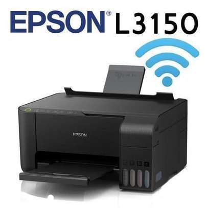 Epson EcoTank L3150 Wi-Fi All-in-One Ink Tank Printer image 3