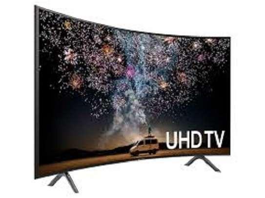 Samsung 55-inch Class Curved UHD TU8300 Series - 4K UHD HDR Smart TV 55TU8300 image 1
