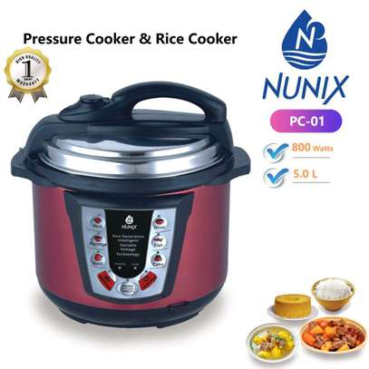 pressure cooker and rice cooker image 1