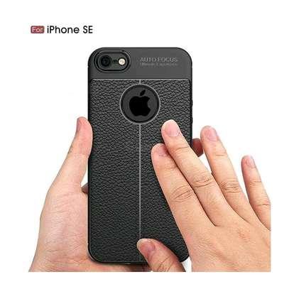 Autofocus Auto Focus Back Cover For IPhone SE 5s 5 - Black image 2