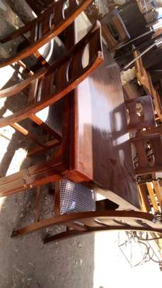 Wooden made dining 6seater@ 48k