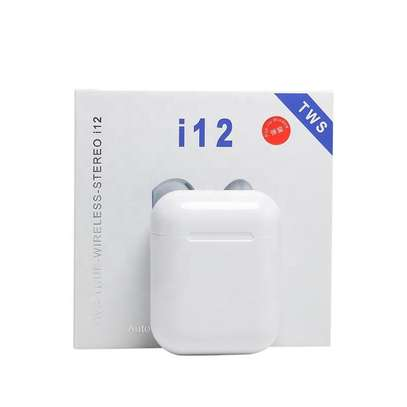 Generic TWs i12  Mini Wireless Bluetooth 5.0 Headsets Stereo image 5