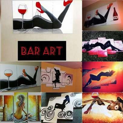 Sungura Art Painting Wall decor Painting On Canvas image 8