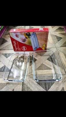 Signature 2pcs Baking Glass Set image 5
