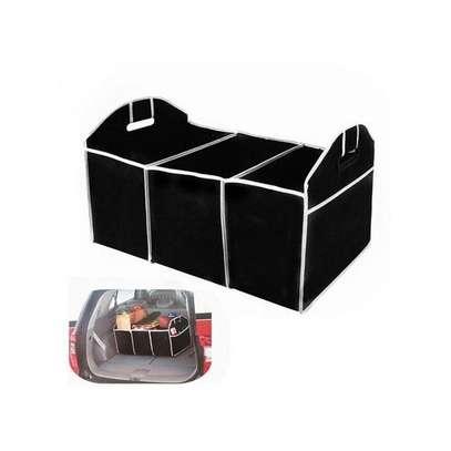 Multipurpose Travel Car Boot Organizer image 1