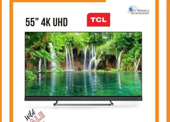 TCl 65inches C8 smart 4k Uhd Android with Onkyo,Bluetooth image 1