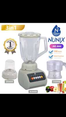 3 in 1 Nunix electric blender