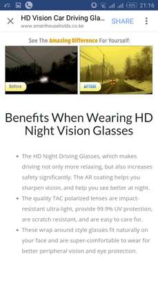 HD VISION NIGHT DRIVING GLASSES image 4
